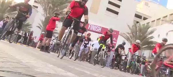 کراچی ، صحت ، عالمی ہفتے ، سائیکل میراتھن