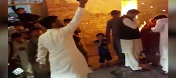 لاہور ، شادی کی تقریب میں سرعام ہوائی فائرنگ نے قانون کی دھجیاں اڑا دیں 