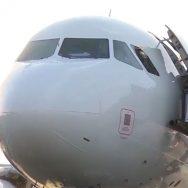 پی آئی اے ، پرواز ، پی کے 370 ، ونڈ اسکرین