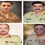 پاک فوج میں مختلف اعلیٰ افسران کی تقرریاں و تبادلے 