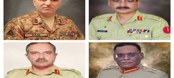 پاک فوج ، میجر جنرلز ، لیفٹیننٹ جنرل ، ترقی