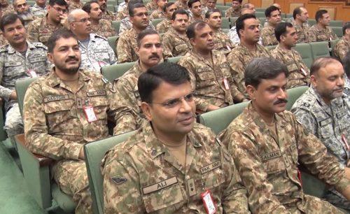 آرمی چیف ، جنرل قمر جاوید باجوہ ، نیشنل ڈیفنس یونیورسٹی ، اسلام آباد ، دورہ