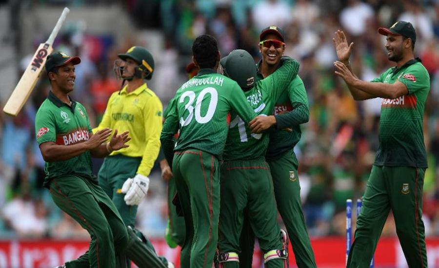 بنگلہ دیش نے جنوبی افریقہ کو 21 اسکور سے شکست دیدی