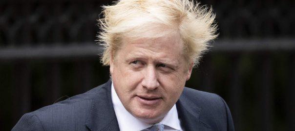 برطانوی وزیر اعظم  بورس جانسن  لندن  92 نیوز یورپی یونین 