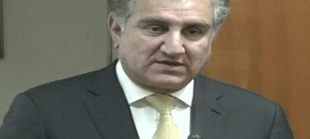 امن و استحکام افغانستان پاکستان ضرورت شاہ محمود قریشی وزیر خارجہ
