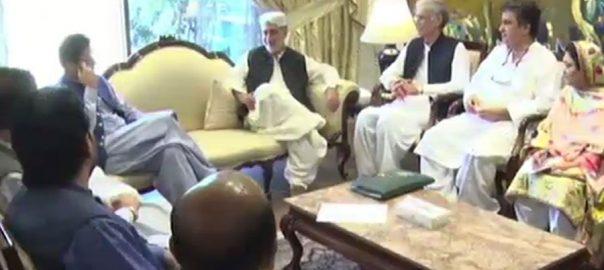 بی این پی مینگل گروپ وفد عمران خان ملاقات چھ نکاتی مطالبات منظوری مطالبہ