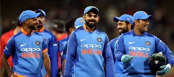 بھارتی ٹیم ورلڈ کپ جرسیاں پاکستان لندن سپورٹس ڈیسک  سوشل میڈیا