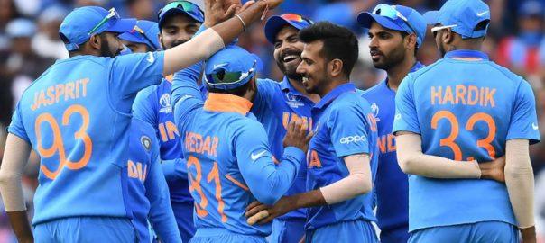 بھارت نے آسٹریلیا کو 36 رنز سے شکست دیدی