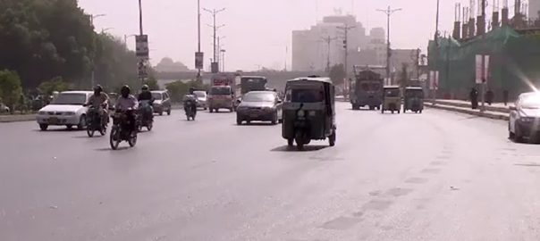 کراچی گرمی کا زور 92 نیوز مون سون  محکمہ موسمیات  چلچلاتی دھوپ موسم ابر آلود  گرمی کا راج  موسم کا حال 