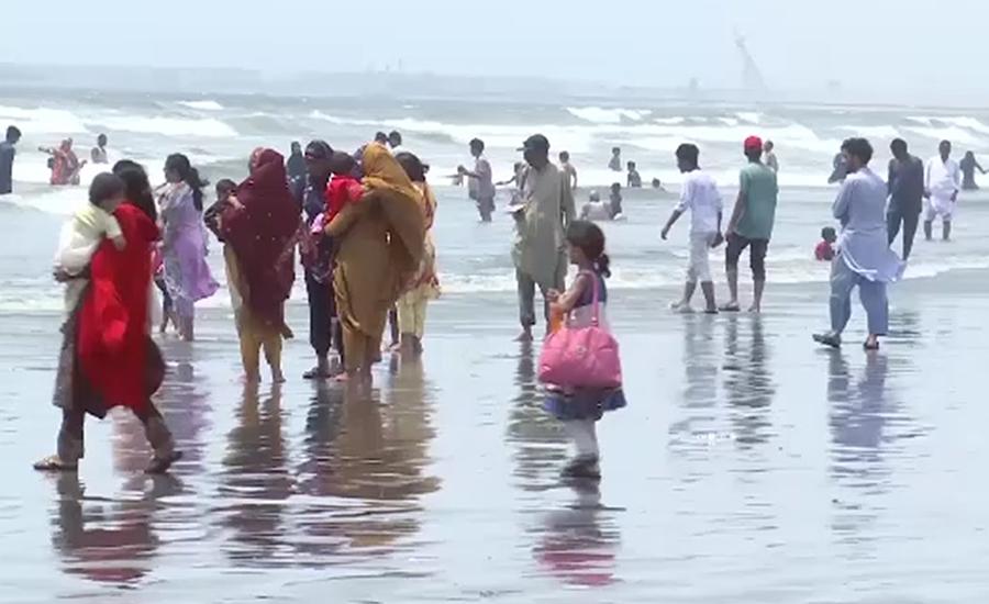 کراچی میں سورج کی حکمرانی ختم ، موسم خوشگوار ہوگیا