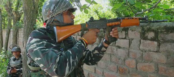 احساس جرم  ذہنی دباؤ  مقبوضہ کشمیر بھارتی فوجی خودکشی کرلی مقبوضہ کشمیر  92نیوز