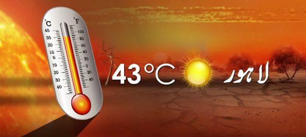 پنجاب سندھ مشرقی بلوچستان جنوبی خیبرپختونخوا غضب گرمی
