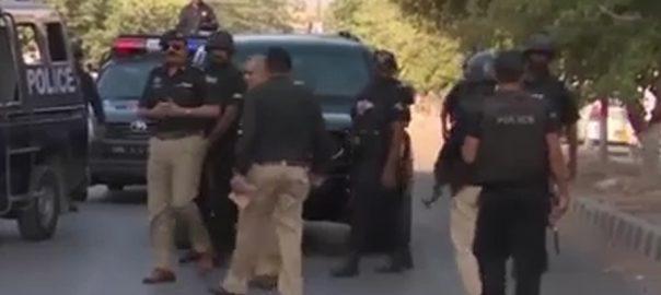 کراچی  92 نیوز پولیس اہلکار ٹارگٹ کلنگ  دہشت گرد سلیپر سیلز  شہر قائد  پولیس 