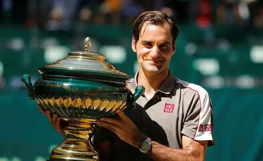 راجر فیڈرر نے ہالے اوپن ٹینس کا تاج اپنے سر سجا لیا