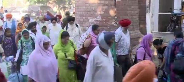 بھارتی ، حکام ، پاکستان ، سکھ یاتریوں ، مذہبی رسومات ، ادائیگی ، اجازت
