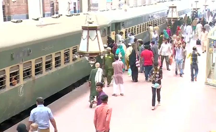 ٹرینوں کا شیڈول کئی ماہ بعد بھی ٹریک پر نہ آسکا