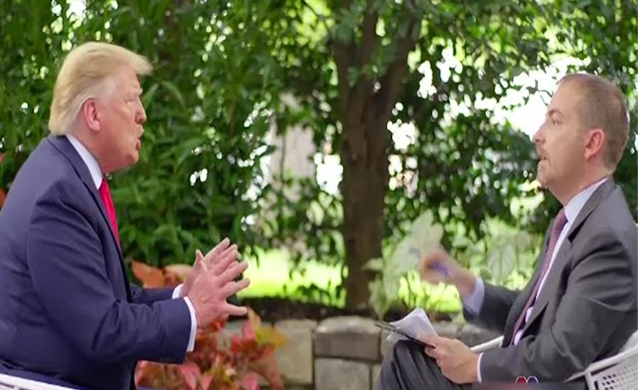 ایران سے جنگ نہیں چاہتے ، امریکی صدر