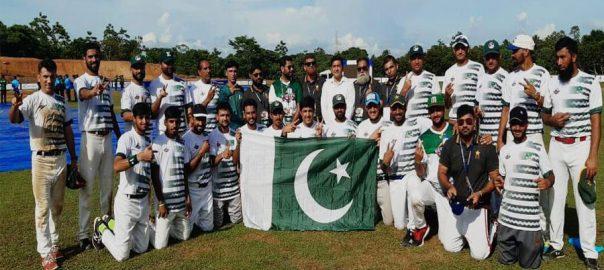 پاکستان بھارت شکست ویسٹ ایشیا بیس بال کپ 2019 فائنل