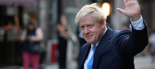برطانوی ، وزیر اعظم ، بورس جانسن ، قبل از وقت ، انتخابات ، خواہش ، اعلان