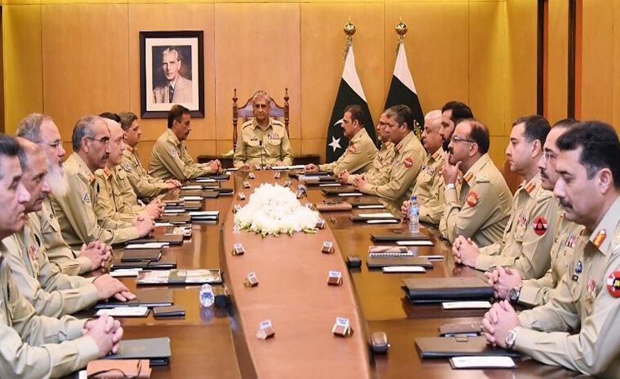 پاکستان امن و استحکام کی مثبت راہ پر گامزن ہے ، آرمی چیف