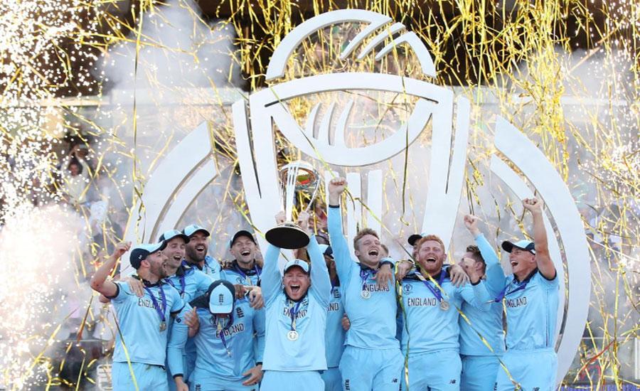 انگلینڈ سنسنی خیز مقابلے میں نیوزی لینڈ کو شکست دیکر کرکٹ کا عالمی چیمپئن بن گیا
