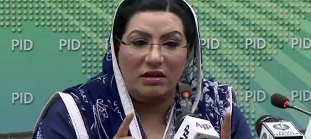 شاہد خاقان عباسی  فردوس عاشق اعوان  اسلام آباد  92 نیوز