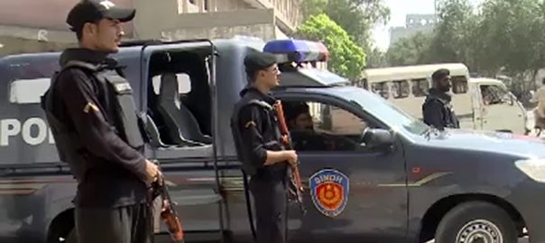 کراچی  92 نیوز اسٹریٹ کرائمز لانڈھی واردات ناکام پولیس
