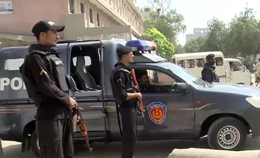 لانڈھی میں ڈکیتی کی واردات پولیس نےناکام بنادی