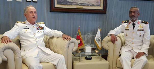 پاک بحریہ، سر براہ، کمانڈر یو اے ای، نیول فورسز، چیف آف سٹاف