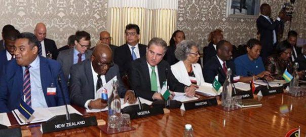پاکستان دہشتگردی مالی معاونت روک تھام موثر اقدامات وزیر خارجہ