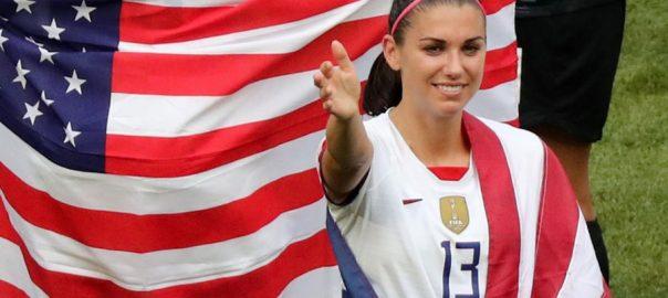 امریکی خواتین  فٹبال کی عالمی چیمپئن  لیون  92 نیوز فرانس 