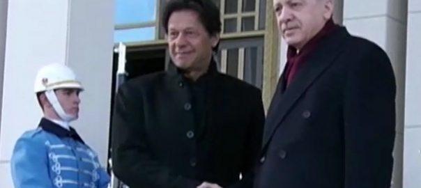 ترک صدر، رجب طیب اردوان، وزیراعظم عمران خان، دوطرفہ تعلقات، علاقائی امور، تبادلہ خیال