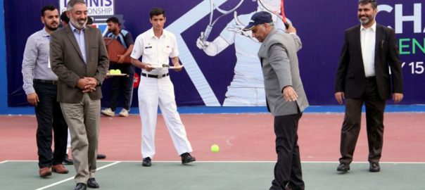 دوسری، چیئرمین، جوائنٹ، چیف آف اسٹاف کمیٹی، اوپن ٹینس، چیمپئن شپ، کراچی،