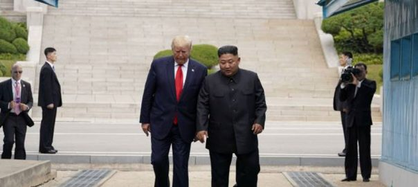 ڈونلڈ ٹرمپ  شمالی کوریا  امریکی صدر  سیول کِم جونگ 
