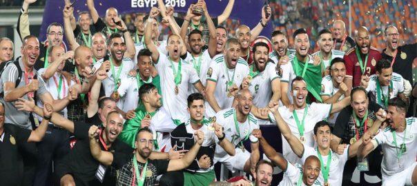 افریقہ  کپ آف نیشنز  الجیریا  قاہرہ  92 نیوز سینی گال