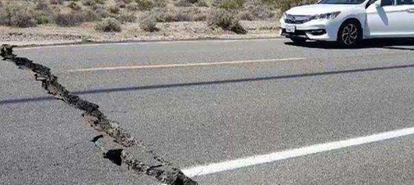 امریکی ریاست کیلی فورنیا سات اعشاریہ ایک شدت زلزلے لرز