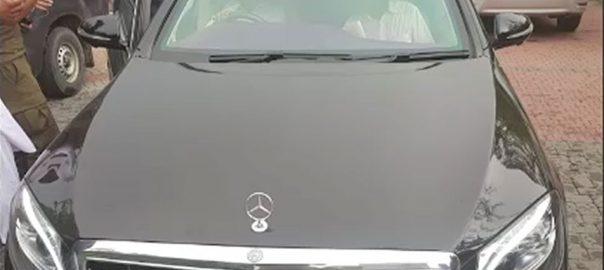 سابق وزیراعظم سرکاری گاڑی مریم برآمد کابینہ ڈویژن جاتی امرا تحویل