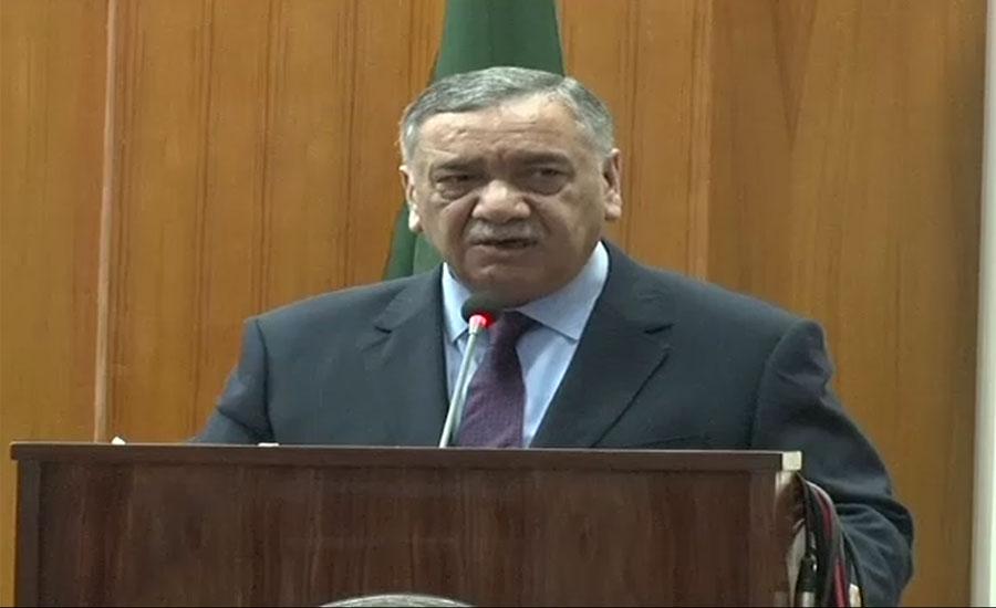 جھوٹی گواہی انصاف کی راہ میں بڑی رکاوٹ ہے ، چیف جسٹس پاکستان آصف سعید کھوسہ