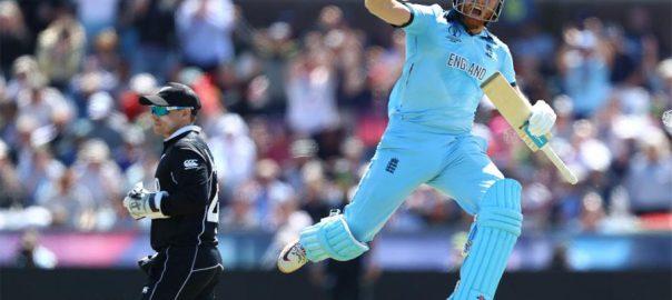 انگلینڈ نیوزی لینڈ جیت 306 رنز ہدف