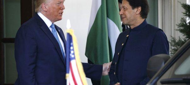 امریکی صدر  وزیراعظم  پاکستان  اعلامیہ جاری  واشنگٹن  92 نیوز  کردار کی تعریف  پاک بھارت  کشیدہ تعلقات  مصالحت کی پیشکش  صدرٹرمپ  وائٹ ہاؤس