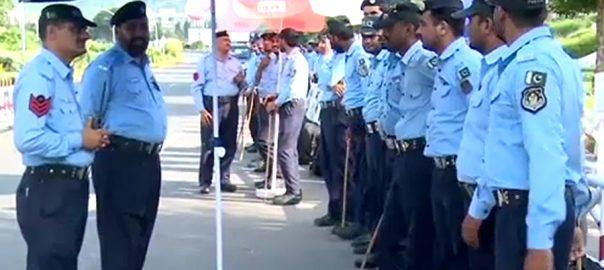 سابق جج  احتساب عدالت ارشد ملک سپریم کورٹ سکیورٹی کے انتظامات اسلام آباد  92 نیوز