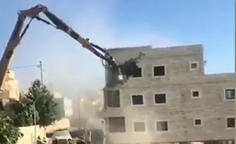 اسرائیلی فوج نے فلسطینی شہریوں کے گھر مسمار کرنا شروع کر دیے