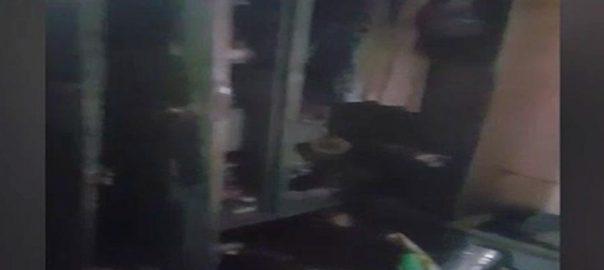 سپرمارکیٹ پولیس  لیاقت آباد  کراچی  92 نیوز لیڈی سرچر