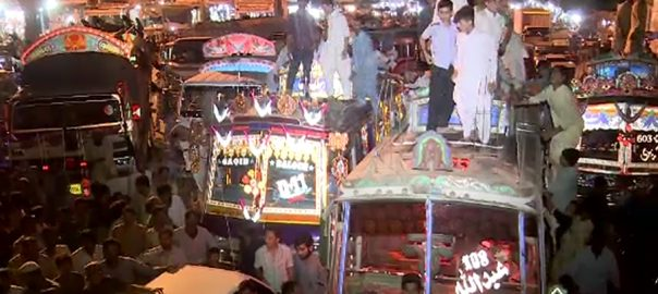 کراچی ٹرانسپورٹرز ویب ڈیسک  سی این جی  موٹروہیکل ٹیکس 