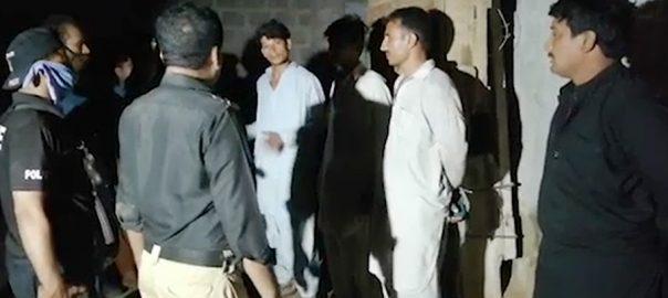 کراچی سرچ آپریشن  92 نیوز مسروقہ سامان 