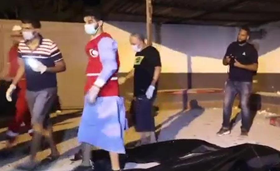 لیبیا، پناہ گزین کیمپوں پر فضائی حملے ، 40افراد جاں بحق