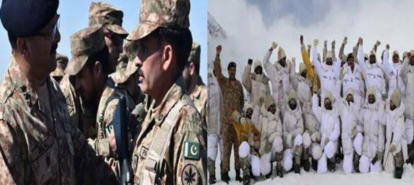 کور کمانڈر راولپنڈی لیفٹیننٹ جنرل بلال اکبر کنٹرول لائن دورہ