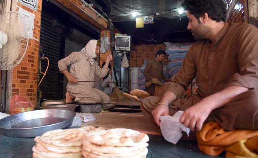 آٹے کی قیمتیں بڑھنے کے بعد نان اور روٹی کی قیمتوں میں اضافہ
