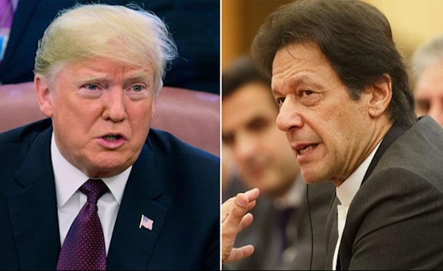 ٹرمپ نے افغانستان میں غیرملکی یرغمالیوں کی رہائی میں کردار پر وزیراعظم کا شکریہ ادا کیا