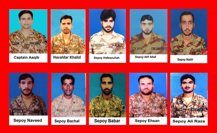 شمالی وزیرستان اور بلوچستان میں دہشتگردوں کے حملے ،10 اہلکار شہید